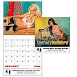 Fantasy Builders Wall Calendars